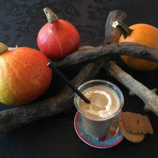 kruidige pompoen smoothie