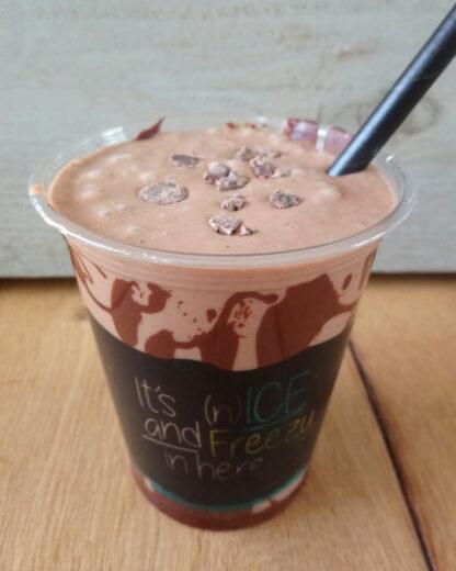 Vegan snickers milkshakeSin Carne