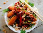 Vegan Pad Thai Sin Carne